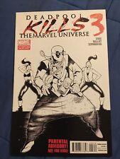 Deadpool Kills the Marvel Universe #3 2nd Print Variant [Marvel Comics, 2012]