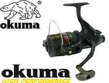 Okuma Carbonite Baitfeeder 55 CBF Carp Reel Pre loaded With Camo Line RRP £30