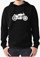 Manx Norton Deco vintage Motorcycle Hoodie or Sweatshirt INISHED Productions