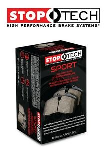 Cayenne Touareg Q7 Front Left & Right Sport Performance Brake Pads Set Stoptech