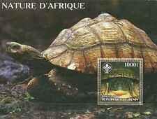 Timbre Reptiles Tortues Bénin ** année 2006 (30025)