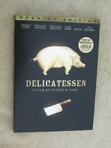 Delicatessen (DVD, NEW, SEALED)