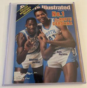 Sports Illustrated November 28,1983 Michael Jordan Sam Perkins UNC Rookie Cover