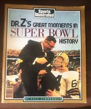 """1989 Sports Illustrated - """"DR. Z's GREAT MOMENTS IN SUPER BOWL HISTORY"""" #1 - #22"""