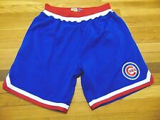 MITCHELL & NESS MLB COOPERSTOWN COLLECTION CHICAGO CUBS SHORTS L $125