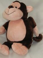 """LARGE 15"""" MONKEY SOFT TOY TRANSFORMS INTO JUNGLE CASTLE CUDDLE CUSHION PILLOW"""