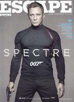 DANIEL CRAIG - JAMES BOND 007 - British ESCAPE Magazine 2015 C#75