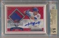 2016 Topps Addison Russell Postseason Performance Autograph Relics 06/50 BGS 9.5
