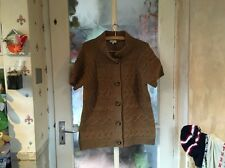 Country Casuals Ladies Wool Blend Short Sleeved Cardigan, Beautiful Condition.