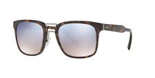 Prada SPR 14T 2AU-5R0 Sunglasses Havana Brown Frame Light Blue Silver Lens 53mm