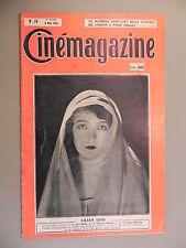 Cinémagazine - N°18 - 2 Mai 1924 - MAXUDIAN - Lysiane BERNHARDT