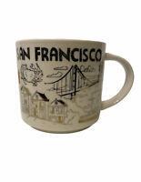 Starbucks San Francisco Been There Series 2018 Full Size Coffee Mug 14oz