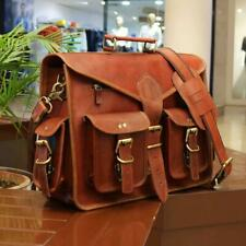 Handmade Genuine Leather Laptop Messenger And Satchel Bag Cross Body