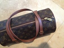 Authentic Louis Vuitton MADE FRANCE LV Monogram BARREL BEDFORD BAG COLLECTOR