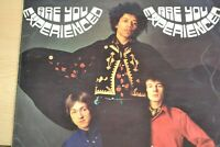 THE JIMI HENDRIX EXPERIENCE. ARE YOU EXPERIENCED. LP. 1967  612 001 TRACK RECORD