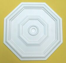 46CM Ceiling Rose Quality Polystyrene Rose - 'MADISON' - Easy Fit Lightweight