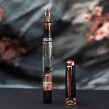 Twsbi 580 Diamond Black & Rose Gold Fountain Pen