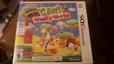 Poochy & Yoshi's Woolly World (Nintendo 3DS, 2017) - FREE CANADIAN SHIPPING!!