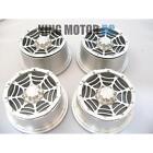 King Motor Aluminum Alloy Rims Wheels, 24mm Hex Fits HPI Baja Truck 5T, SC T1000