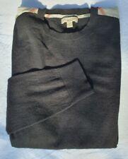Burberry Cotton/Cashmere Sweater S/M Pullover Unisex