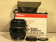 Canon EF 70-300mm F4.5-5.6 DO Diffractive Optics IS USM Macro FX Compact Lens