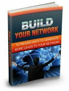 Build Your Network ebook pdf with Master Resell Rights