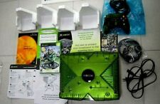 HALO Special Edition Xbox Green Console Original System boxed w/controller+ game