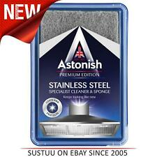 Astonish Premium Edition Stainless Steel Cleaner with Sponge│1 x 250g