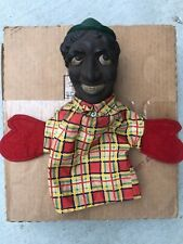 Vintage Marx Brothers Chico Puppet Rubber Face 1940's Very Rare