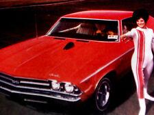 1969 CHEVY CHEVELLE DIXCO HOOD MOUNTED TACH ORIGINAL AD-ss/396/350/v8 engine/427