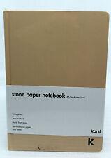 Karst Stone Paper Notebook A5 Hardcover liniert Farbe Desert NEU