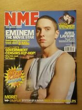 NME JANUARY 18 2003 EMINEM AVRIL LEVIGNE COLDPLAY THE LIBERTINES 50 CENT