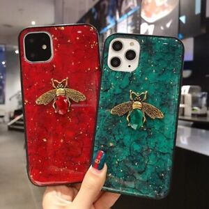 Diamond Bee Phone Case For iPhone 12 11 Pro Max 12 Mini XR X XS Max 6 6S 7 8