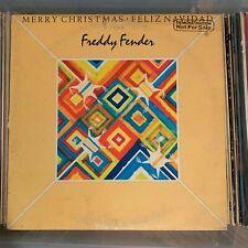 Freddy Fender - Merry Christmas Feliz Navidad - vintage vinyl LP - 1977 promo