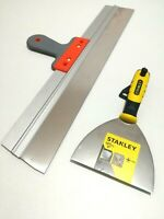 Stainless Taping Filling Knife 550mm & Stanley Joint Knife (127mm) with PH2 Bit