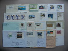 GERMANY BRD + BERLIN, lot 33x cover, stamps cornerpiece with number
