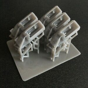 Pack of 5 Sd.Kfz. 251 Halftrack   Resin 1:285 Scale For Micro Armour