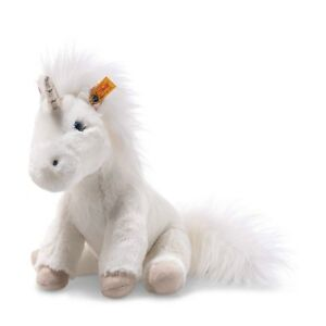 Steiff 087752 Soft Cuddly Friends Floppy Unica Unicorn 25 CM