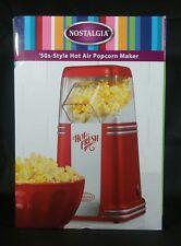 Nostalgia Electric 50's Style Hot Air Popcorn Popper Popcorn Maker New In Box
