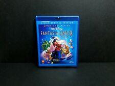 Fantasia & Fantasia 2000 (Blu-ray, DVD, 2010) OOP & Rare. Disney Special Edition