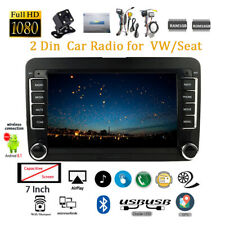 7''2 Din GPS Android Car Radio for VW/Seat +CAM Touch Wifi iOS Mirror Link BT FM