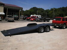 2017 Sloans Kwik Load 7x18 Texas Roll back Tandem Axle Flat Bed Car Hauler 7000#