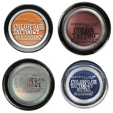 Maybelline Color Tattoo By Eyestudio 24hr Cream Eyeshadow-Shade of Your Choice