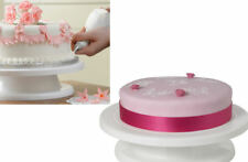 SFK Delish Treats Cake Decorating Turn Table (White) baking bake decorating