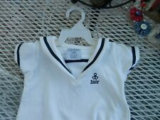 1-2 Months Hm Hennies &Mauritz 100% Cotton Baby Sailor Romper