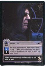 Star Wars Jedi Knights TCG Premiere #69 Emperor Palpatine [L] SILVER