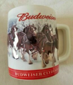 2019 Budweiser Christmas Beer Stein Clydesdale Holiday Mug