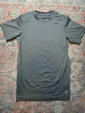 Nike Pro Combat Gray Boys Athletic Dri-Fit Compression Shirt~Size XL (11-12)~EUC
