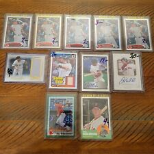 Will Middlebrooks 11 Card Lot Rookie RC Numbered Relic Patch Autographs
