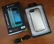 Mophie Juice Pack Air Rechargeable External Battery Case for iPhone 5S/5 Lt Gold